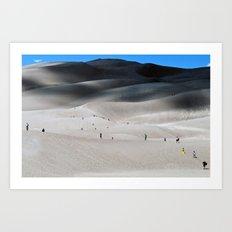 Sand Dune Art Print