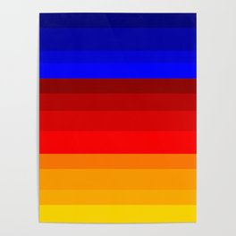 Red, Blue, and Happy All Over! Poster
