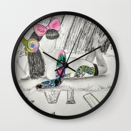 End of the Rainbow Wall Clock