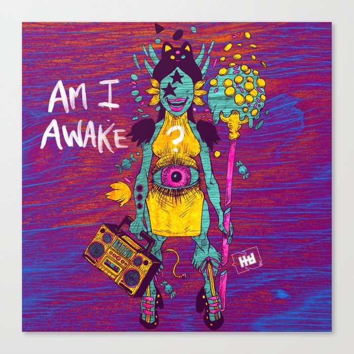 AMI AWAKE Canvas Print