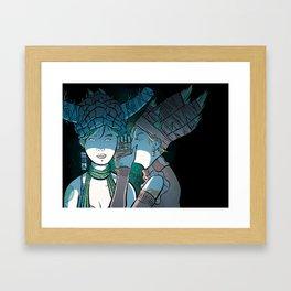 Influence Framed Art Print