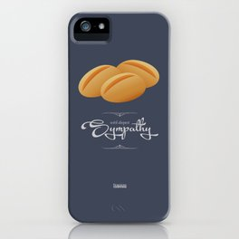 D&R Dinner Rolls: With Deepest Sympathy iPhone Case