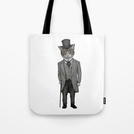Mr.cat Tote Bag