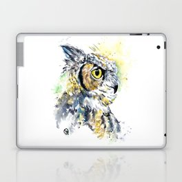 Great Horned Owl Laptop & iPad Skin