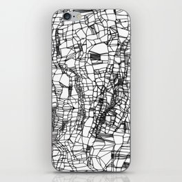 deconstructed knit iPhone Skin