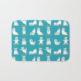 West Highland Terrier Yoga Bath Mat