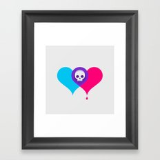 A Death-Marked Love Framed Art Print