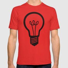 Simple Light Bulb T-shirt