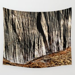 tree bark and wood Wall Tapestry