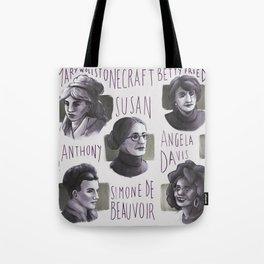 Portraits of feminism Tote Bag
