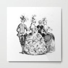 Tea Party Without the Tea Metal Print