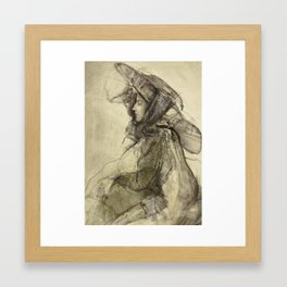 Hommage à Lovis Corinth V Framed Art Print