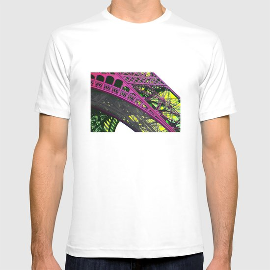 purple paris T-shirt