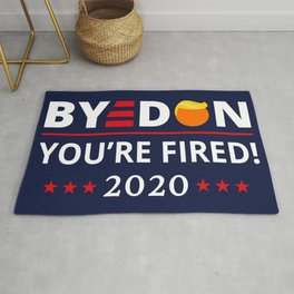 ByeDon 2020 You're Fired! Funny Biden Harris Art II Rug