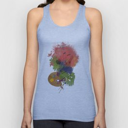 Drawing Unisex Tank Top