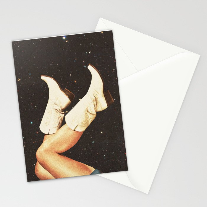 These Boots - Space Stationery Cards