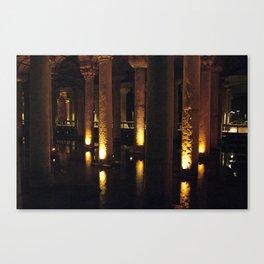 Light Underground!  Canvas Print