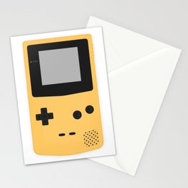 Gameboy Colour Yellow Stationery Cards