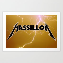 MASSILLON Art Print