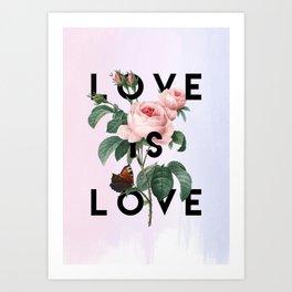 Love is Love Art Print