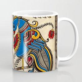 The Gemini peacock  Coffee Mug
