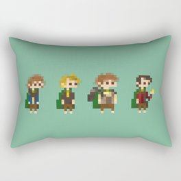 Frodo, Sam, Pippin and merry Rectangular Pillow