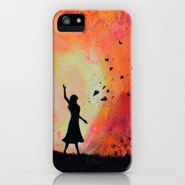 Bursting forth in Praise iPhone Case