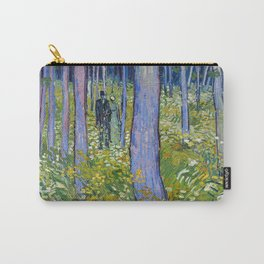 Vincent van Gogh Undergrowth with Two Figures Carry-All Pouch