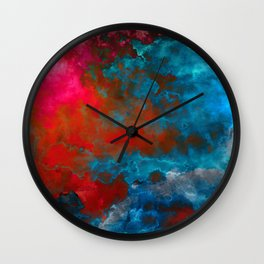 Deep Space Wall Clock