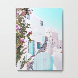 Love Santorini Metal Print