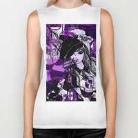 police Biker Tanks featuring POLICE WOMEN by Chandelina