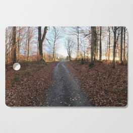 Forest in the Fall Cutting Board