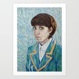 Vincent and Me Art Print