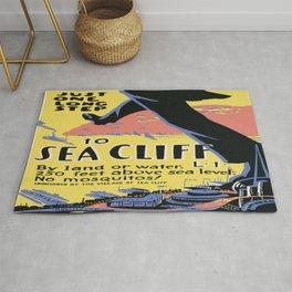 Vintage poster - Sea Cliff Rug