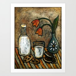 Milk andCookies Art Print