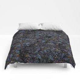 Fit In (moonlit blue) Comforters