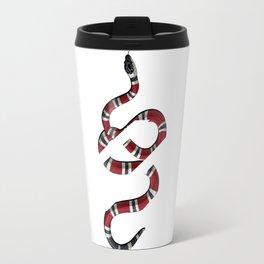 baby snake white Travel Mug