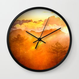 A Brand New Day Wall Clock