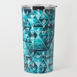 Blackthorn Family Motto Mosaic Travel Mug