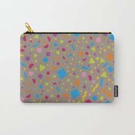 Geometric Multicolor Background XI Carry-All Pouch
