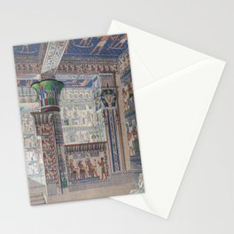 History, of, Egypt, 1901, The, inside, of, the, Temple, at, West, Thebes, History of,Egypt 1901,The Stationery Cards
