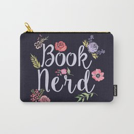 Book Nerd (reverse) Carry-All Pouch
