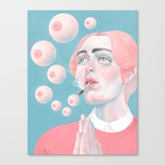 When You Get High Canvas Print