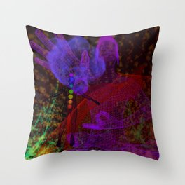 Conference With the Ascended Throw Pillow