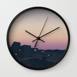 Here's to the fools who dream Wall Clock
