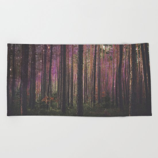 COSMIC FOREST UNIVERSE Beach Towel