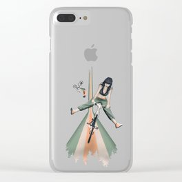 Happy Joyride Clear iPhone Case
