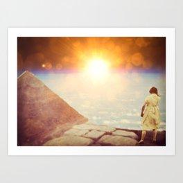 Magical Sunrise Art Print