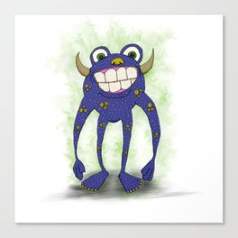 Mr. Stinky Stank Canvas Print