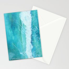 First Ocean Wave. Stationery Cards